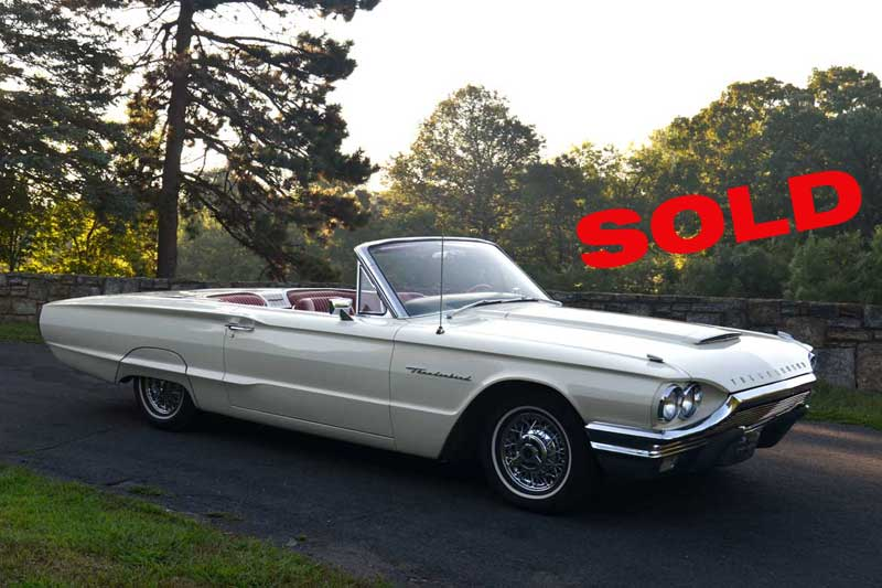 1964-Ford-Thunderbird-Convertible-For-Sale