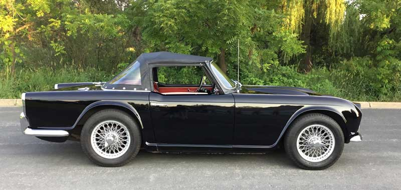 1964-Triumph-TR4-For-Sale