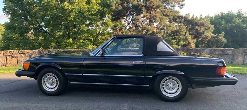 1977-Mercedes-450SL-For-Sale-Bundt-Wheels