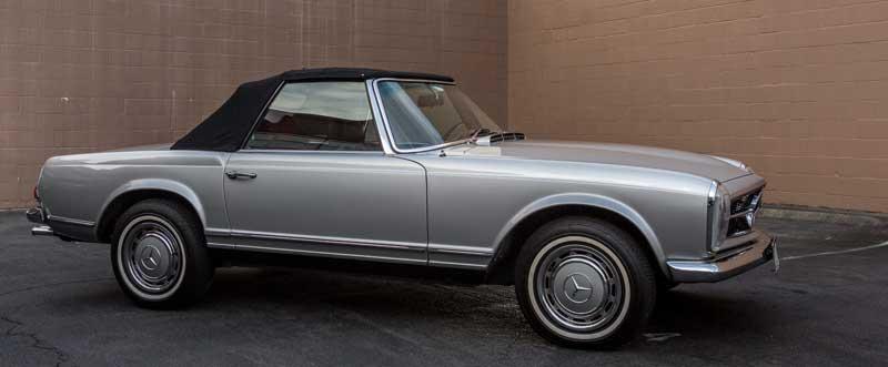 Mercedes W113 280SL For Sale-Tobin-Motor-Works