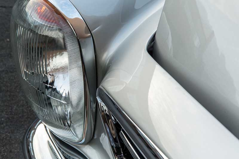 Mercedes W113 280SL For Sale Tobin Motor Works-fender-notches