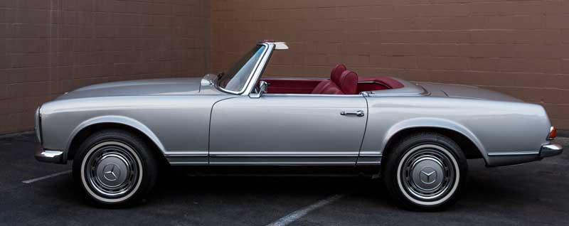 Mercedes W113 280SL For Sale Tobin Motor Works-after-restoration
