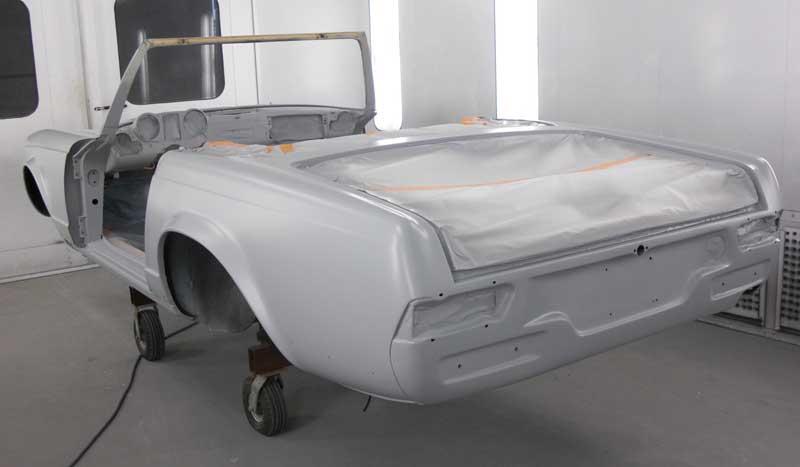 Mercedes W113 280SL For Sale Tobin Motor Works