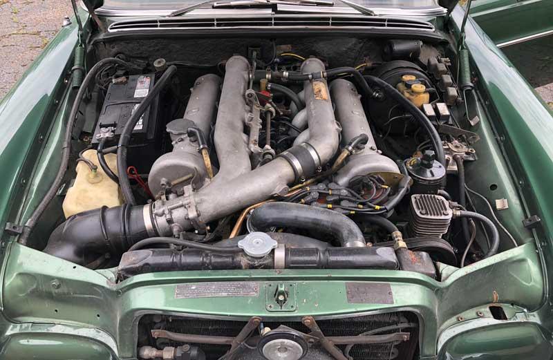 1970-Mercedes-300SEL-6.3-Moss-Green-Metallic-Tobin-Motor-Works-Project