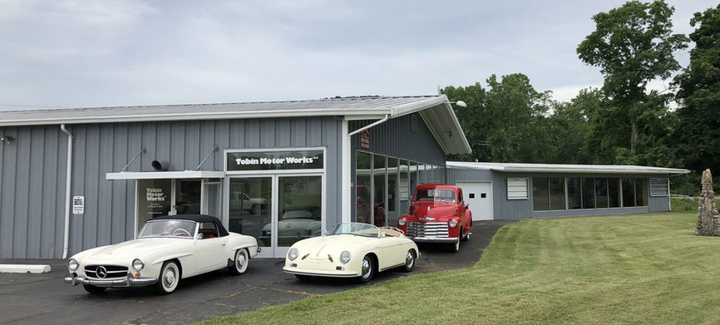 Tobin-Motor-Works Collector car sales consignment brokerage