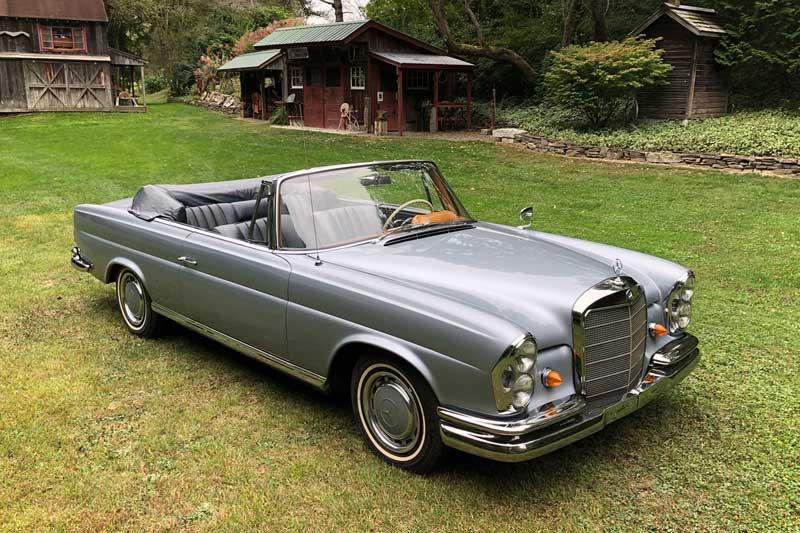 Mercedes-W111-220SE-Cabriolet-For-Sale-Tobin-Motor-Works