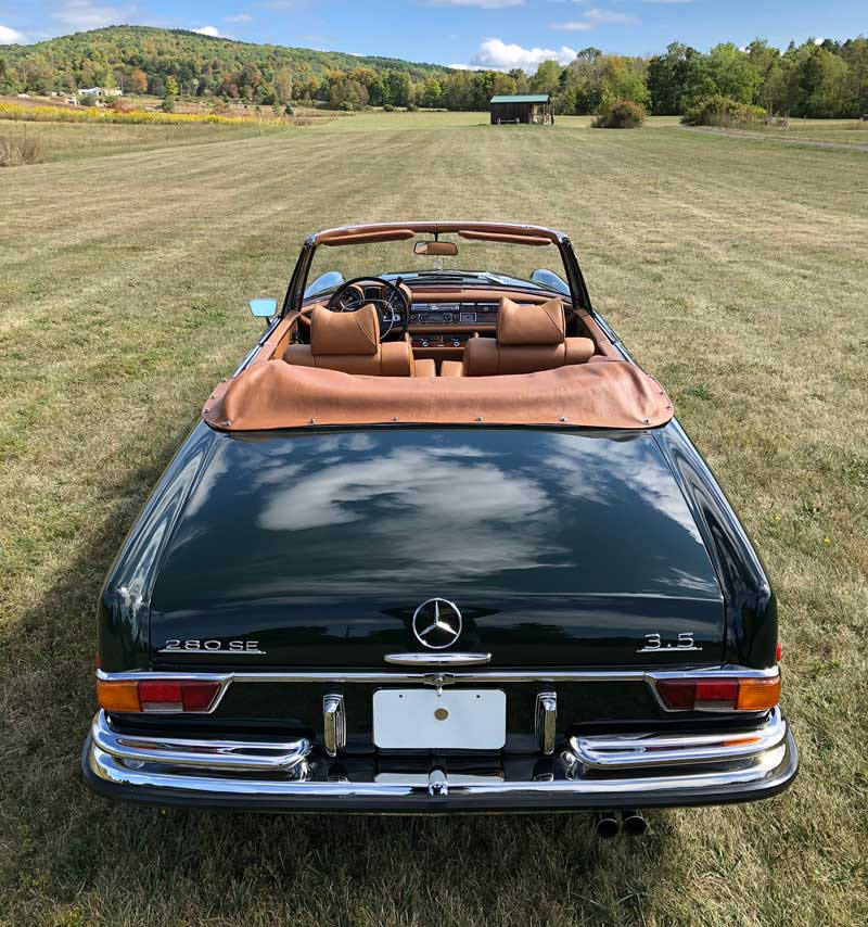 Mercedes-W111-280SE-3.5-Cabriolet-For-Sale-Tobin-Motor-Works