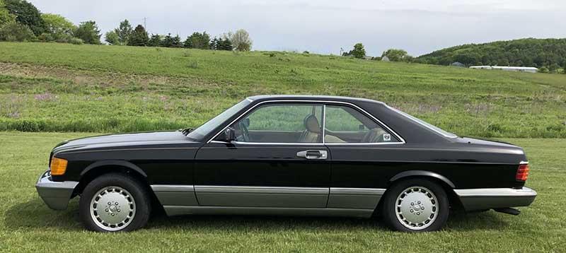 Mercedes-560SEC-For-Sale-Tobin-Motor-Works