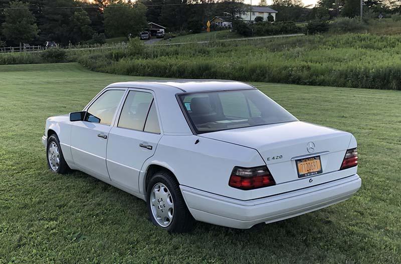Mercedes E 420 For Sale Tobin Motor Works 2